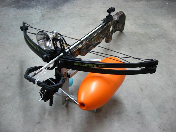 Gator hunting equipment for Crossbow fishing kit